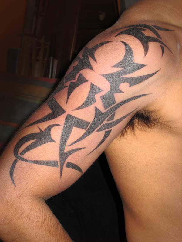 Tribal arm design